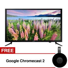 Samsung 40 inch Full HD Digital LED TV - Hitam (Model UA40M5000) with Free gift Google Chromecast 2