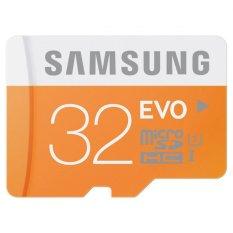 Samsung 48 MB/s Kelas 10 EVO Micro SD 32 GB UHS-I Kartu Memori Class10 MicroSDHC-Internasional