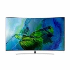 Samsung 55 Inch QLED 4K Curved Smart TV 55Q8C - Nasional