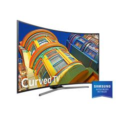 Samsung 55 Inch UHD 4K Curved Smart LED TV UA55KU6500 - Free Bracket