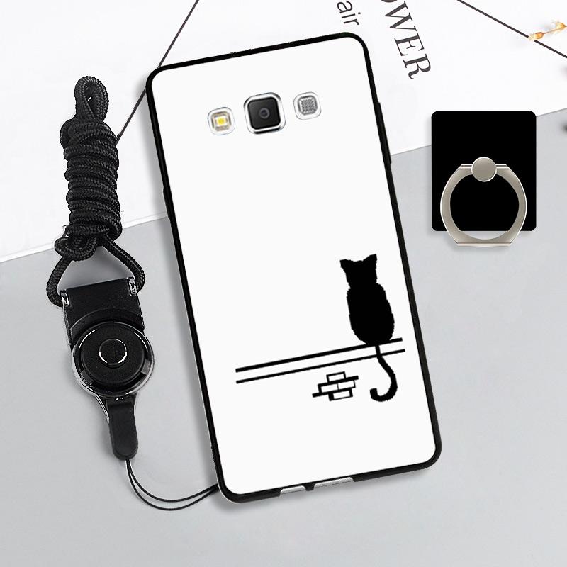 Samsung A5/A5 000/A5 009 Silikon Perempuan Tali Gantungan Casing Casing HP