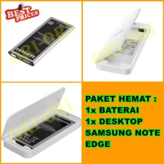 Samsung Baterai / Battery Galaxy Note EDGE + Desktop Baterai / Extra Battery Kit Samsung Note EDGE - Paket Hemat [ ori-ori ]