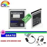 Iklan Samsung Baterai Battery Original Galaxy J2 J200 Kapasitas 2000Mah Gratis Kabel Otg Micro Usb