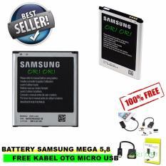 Ulasan Lengkap Tentang Samsung Baterai Battery Original Galaxy Mega 5 8 Gt I9152 Gt I9150 Kapasitas 2600Mah Gratis Kabel Otg Micro Usb