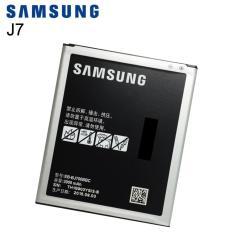 Samsung Baterai For Galaxy J7 / J700F / SM-J7008 Original - Hitam - Bonus Gurita