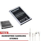 Miliki Segera Samsung Baterai Galaxy Grand 2 2600Mah Free Handsfree Samsung Stereo