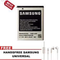 Diskon Samsung Baterai Galaxy Mini S5570 Bonus Handsfree Samsung Universal Akhir Tahun