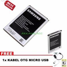 Diskon Samsung Baterai Galaxy Note 2 N7100 Bonus Kabel Otg Micro Usb Akhir Tahun