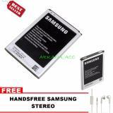 Spesifikasi Samsung Baterai Galaxy Note 2 N7100 Free Handsfree Samsung Universal Terbaik