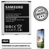 Diskon Besarsamsung Baterai Original S4 Gt I9500 Free Tempered Glass Samsung S4