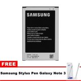 Diskon Produk Samsung Battery For Galaxy Note 3 Sm N900 Gratis Stylus Pen Samsung Galaxy Note 3