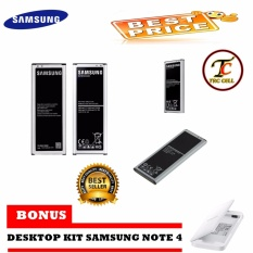 Samsung Battery Galaxy Note 4 SM-N910H 3220mAh Original FREE Desktop Kit