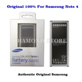 Harga Samsung Battery Baterai Samsung Galaxy Note 4 Original 100 Origin