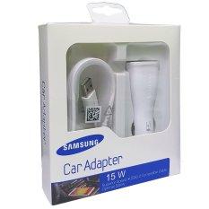 Promo Samsung Car Adapter 15 W Usb 3 Untuk Samsung Note 4 Putih Samsung