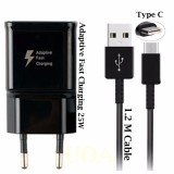 Beli Samsung Charger Fast Charger 25W Type C Untuk Samsung Galaxy S8 S8 Plus Note 8 Original Hitam Baru