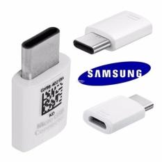 Samsung Conector Original Converter Micro USB Ke USB C - Putih