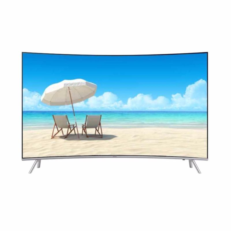 SAMSUNG CURVED 4K UHD Smart Digital LED TV 49 - 49MU8000 - Khusus Jabodetabek