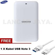 Samsung Docking Dock Charger For Battery Galaxy Note 3 - Putih + Gratis Kabel USB note 3