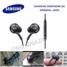 Harga Samsung Earphone Handsfree Audio Stereo For Samsung Galaxy S8 By Akg Original Hitam Baru