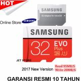 Harga Samsung Evo Plus 32Gb 95Mb S Microsdhc With Sd Adapter Baru