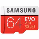 Katalog Samsung Evo Plus Microsdxc Uhs I Card With Adapter 64Gb 100Mb S Class 10 Merah Samsung Terbaru