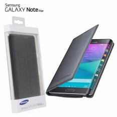 Kualitas Samsung Flip Cover For Galaxy Note Edge N9150 Hitam Original Samsung
