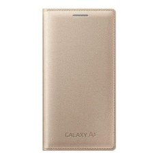 Samsung Flip Cover untuk Samsung Galaxy A3 - Gold