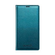 Harga Samsung Flip Wallet Cover For Galaxy S5 Original Biru Asli
