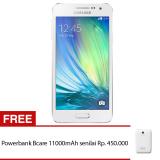 Jual Samsung Galaxy A3 A300H Dual Sim 16Gb Putih Original