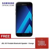 Jual Samsung Galaxy A7 2017 Sm A720 Hitam Gratis Jbl Go Portable Bluetooth Speaker Oranye Branded Murah