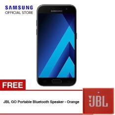 Harga Samsung Galaxy A7 2017 Sm A720 Hitam Gratis Jbl Go Portable Bluetooth Speaker Oranye Terbaru
