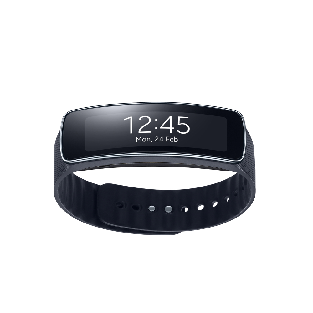Samsung Galaxy Gear Fit Smartwatch-Hitam