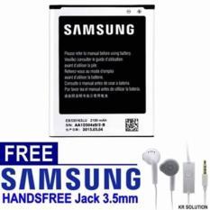 Samsung Galaxy Grand Duos GT-I9082 Baterai Free Samsung Handsfree Young Original