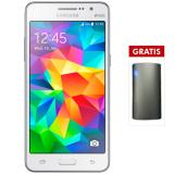 Samsung Galaxy Grand Prime 8Gb Putih Gratis Powerbank Vinzo 6000Mah Indonesia Diskon