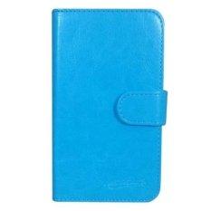 Samsung Galaxy Grand Quattro i8552 Case Book Cover Casing - Biru