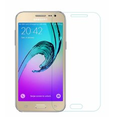 Samsung Galaxy J1 2016  Anti Gores Kaca / Tempered Glass Kaca Bening