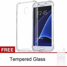 Harga Samsung Galaxy J3 Pro Softcase Tpu Anti Cr*ck Clear Free Tempered Glass Asli Back Case