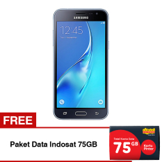 Iklan Samsung Galaxy J3 Sm J320 8Gb Rom Hitam Paket Data Indosat 75Gb