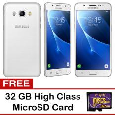 Beli Samsung Galaxy J5 2016 16 Gb Putih Gratis 32Gb High Class Microsd Pake Kartu Kredit