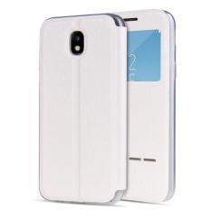 Samsung Galaxy J7 2017/J7 Pro Case, Moon Case Folio Book Shell [Touch Series] [lihat Jendela] Flip PU Kulit Case Penutupan Magnetik Case Cover-Intl