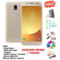 Model Samsung Galaxy J7 Pro Ram 3Gb 32Gb Fingerprint Free 5 Item Accessories Gold Terbaru