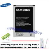 Spek Samsung Galaxy Note 3 Baterai With 1 Pcs Stylush Note 3 White