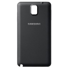 Obral Samsung Galaxy Note 3 N9000 Back Cover Body Replacement Black Leather Murah