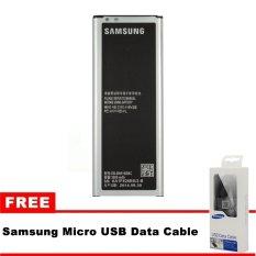 Beli Samsung Galaxy Note 4 Sm N910H 3220Mah Battery Gratis Samsung Micro Usb Data Cable Online Murah