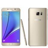 Model Samsung Galaxy Note 5 Smartphone Gold 32Gb 4Gb Dual Sim Terbaru