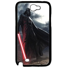 Samsung Galaxy Note II N7100 Case and Cover Star Wars Darth Vader With Light Saber PC case Cover for Samsung Galaxy Note II N7100 Black - intl
