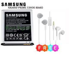 Jual Samsung Galaxy Battery Grand Prime 2600 Mah With 1 Hansfree Young Original Di Bawah Harga