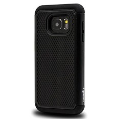Samsung Galaxy S7 Case, Maxessory [Haven] Slim Shock-Proof Rugged Tough Protector Armor Shell w/ Durable Ultra-Slim Impact Protection TPU Thin Grip Cover Black For Samsung Galaxy S7 - intl