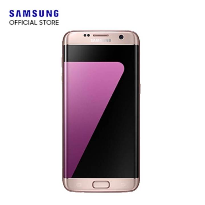 "Samsung Galaxy S7 Edge - 5.5"" - 32GB ROM - Pink Gold"
