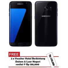 Jual Samsung Galaxy S7 Edge Black Onyx G935 32Gb Garansi Resmi Gratis Voucher Hotel Samsung Murah